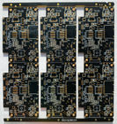 10layer 1.58mm Thickness High Density PCB Immpedance Gold Black Color Board