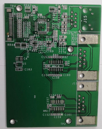 Fast Rapid Universal  Prototype PCB Board LPI Solder Mask With Gold Flash