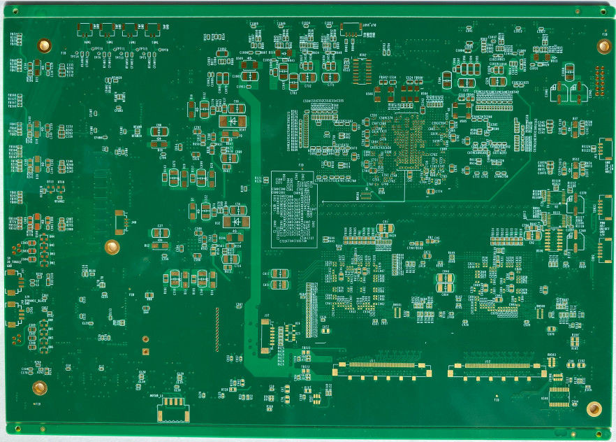 OEM Services Prototype Pcb Fabrication Immersion Gold For DC Convert Equipment