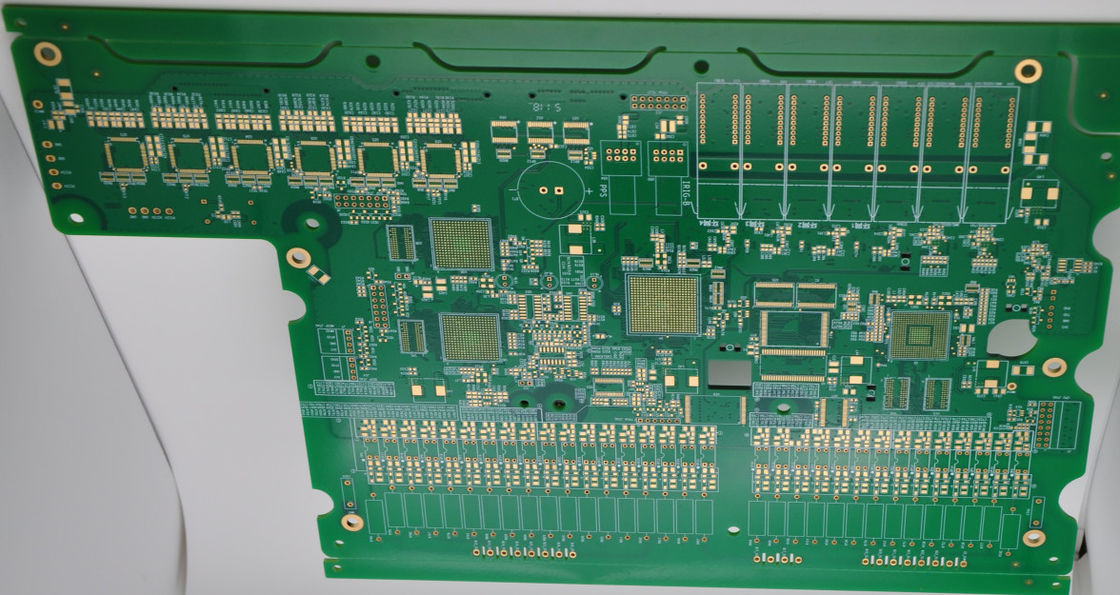 FR4 1.30mm PWB Board green board for laser marking Machines  with ROHS Certification